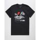 LA FAMILIA Watercolor Sun Mens T-Shirt