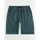 VOLCOM Hailmaker Blue Mens Sweat Shorts