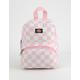 DICKIES Pink & White Mini Backpack
