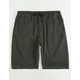 VOLCOM Hailmaker Black Mens Sweat Shorts