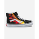 VANS Flame Sk8-Hi Zip Kids Shoes