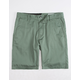 VOLCOM Frickin Drifter Light Green Mens Shorts