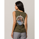 VOLCOM Etched Out Womens Muscle Tank