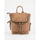 VIOLET RAY Kendall Cognac Mini Backpack
