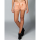 LOST Lace Tier Womens Shorts