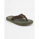 FREEWATERS Supreem Brown Combo Mens Sandals