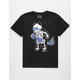 RIOT SOCIETY Panda Skeleton Space Bubbles Boys T-Shirt