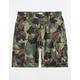 LRG RC Ripstop Camo Mens Cargo Shorts