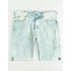 LEVI'S 501 Original Fit White Sand Mens Denim Shorts