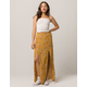 SKY AND SPARROW Floral Womens Maxi Skirt