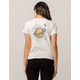 VANS World Pizza Womens Baby Tee