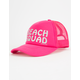 O'NEILL Palm Squad Pink Girls Trucker Hat