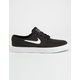NIKE SB Zoom Stefan Janoski Canvas Black & White Shoes