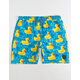 NEFF Ducky Mens Hot Tub Blue Volley Shorts