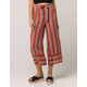 SKY AND SPARROW Stripe Womens Crop Pants