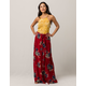PATRONS OF PEACE Floral Wrap Skirt