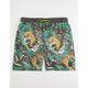 NEFF Danger Paradise Mens Hot Tub Shorts