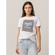 VANS Boxed In Checker Womens Tee