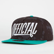 OFFICIAL Applique Mens Snapback Hat