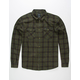 RVCA Treets Military Mens Flannel Shirt