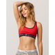TOMMY HILFIGER Seamless Red Sports Bra