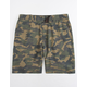 SUBCULTURE Textured Camo Mens Hybrid Shorts