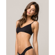 VOLCOM Simply Seamless Black Bikini Top