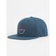 VISSLA Pintail Navy Mens Snapback Hat