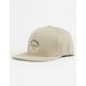 VISSLA Pintail Khaki Mens Snapback Hat