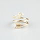 FULL TILT Arrow Swirl Ring