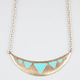 FULL TILT Epoxy Triangle Bib Necklace