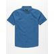 RVCA That'll Do Oxford Cobalt Boys Shirt