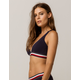 TOMMY HILFIGER Cotton High Apex Red Bralette