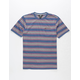 VOLCOM Belfast Blue Boys Pocket Tee
