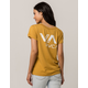 RVCA VA Ink Womens Pocket Tee
