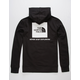 THE NORTH FACE Red Box Black Mens Hoodie