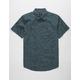RVCA Cleta Classic Indigo Mens Shirt