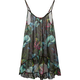 FULL TILT Floral Drop Waist Womens Tunic