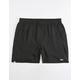 RVCA Yogger III Black Mens Shorts