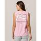 RUSTY TV Screen Pink Womens Muscle Tank