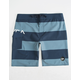 RVCA Uncivil Stripe Mens Boardshorts