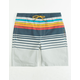 VALOR Fred Stripe Boys Volley Shorts