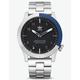 ADIDAS CYPHER_M1 Silver & Blue Watch
