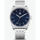 ADIDAS PROCESS_M1 Silver & Navy Watch