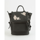 VIOLET RAY Kendall Rose Embroidered Mini Backpack