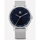 ADIDAS DISTRICT_M1 Silver & Navy Watch