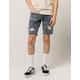 RSQ Elton London Skinny Mens Ripped Denim Shorts
