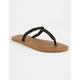 VOLCOM Fishtail Black Womens Sandals