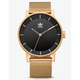 ADIDAS DISTRICT_M1 Gold & Black Watch