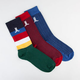 WESC Figaro 3 Pack Mens Crew Socks